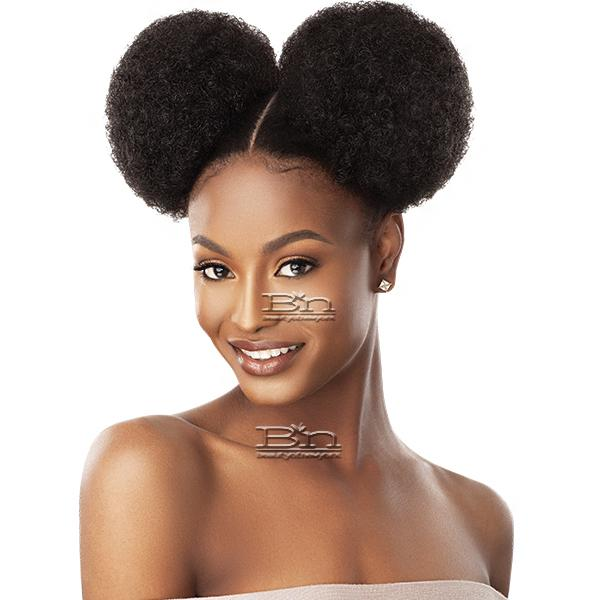 Outre Synthetic Quick Pony - AFRO PUFF DUO LARGE