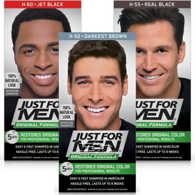 Just For Men Original Formula Easy & Fast Shampoo-In Hair Color