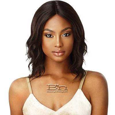 Outre Mytresses Gold Label 100% Unprocessed Human Hair Lace Front Wig  - NATURAL WAVE 14