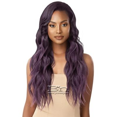 Outre Synthetic Half Wig Quick Weave - JAZZY