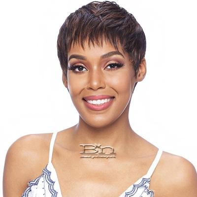 Vanessa Synthetic Slim Lite Fashion Wig with Bang - SLB THREE