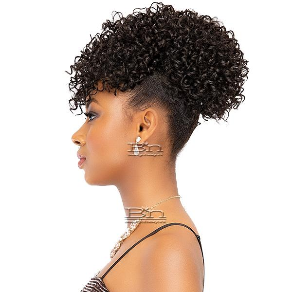 Janet Collection Synthetic Pineapple Ponytail - SQUIGGLE