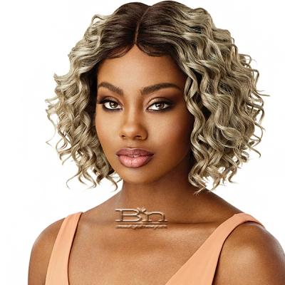 Outre Synthetic I-Part Swiss Lace Front Wig - ALLEGRA