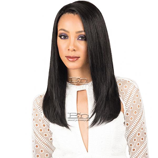 Bobbi Boss Indiremi 100% Virgin Remy Human Hair Lace Wig - MHRLF006 NATURAL STRAIGHT 20 (4x4 Deep Lace Style)