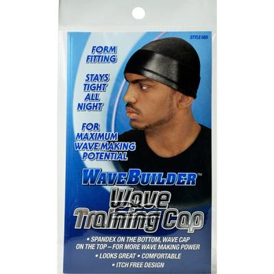 Wave Builder Wave Training Cap Style 685 Black