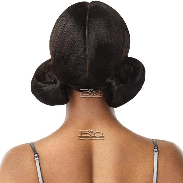 Outre Mytresses Black Label 100% Unprocessed Human Hair Lace Wig - NATURAL STRAIGHT