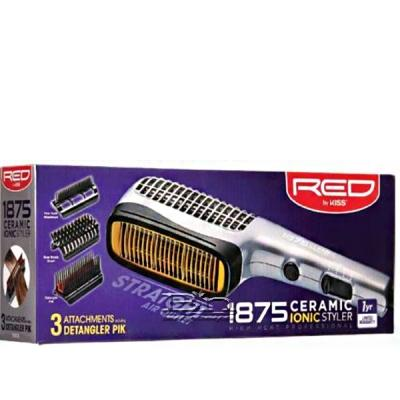 Red by Kiss 1875 Ceramic Ionic Styler Dryer BD02U