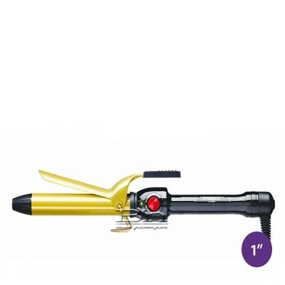 Red by Kiss Ceramic Tourmaline Professional Curling Iron 1 Inch CI05N