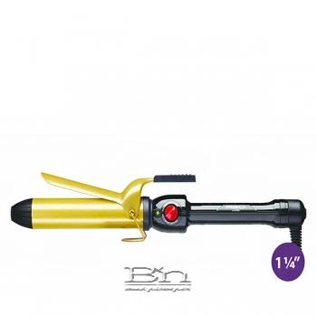 Red by Kiss Ceramic Tourmaline Professional Curling Iron 1 1/4 Inch CI06N