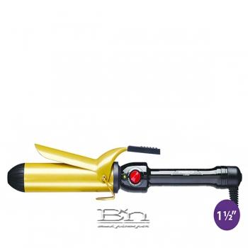 Red by Kiss Ceramic Tourmaline Professional Curling Iron 1 1/2 Inch CI07N