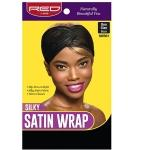 Red by Kiss Silky Satin Wrap One Size Black HWR01
