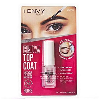 I-Envy by Kiss Brow Top Coat 0.135oz KBCT01