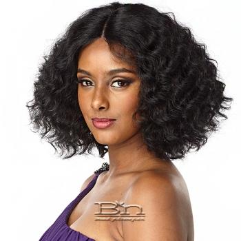 Sensationnel Synthetic Hair Empress Natural Center Part Lace Front Wig - TRACEE