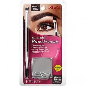 I-Envy by Kiss All-in-One Brow Pomade 0.18oz KBPMXX
