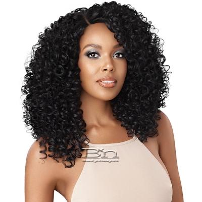 Outre Synthetic L-Part Swiss Lace Front Wig - BLANCA