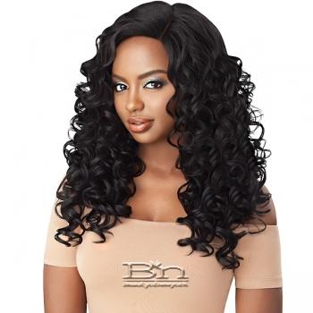 Outre Synthetic L-Part Swiss Lace Front Wig - RONIKA