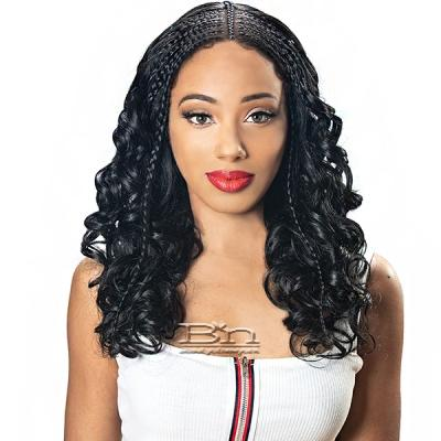 Zury Sis Diva Collection Synthetic Hair Lace Front Wig - DIVA LACE H FULANI 103