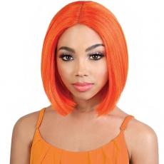 Motown Tress Synthetic Hair Deep Part Let's Lace Wig - LDP NEON2