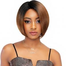 Janet Collection Synthetic Extended Deep Part Lace Wig - EVA