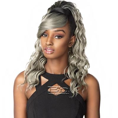 Sensationnel Synthetic Ponytail Instant Pony and Bang - BRIT (2pcs)