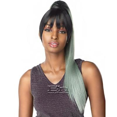Sensationnel Synthetic Ponytail Instant Pony and Bang - CAMI 24 (2pcs)