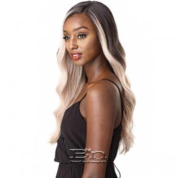 Sensationnel Synthetic Hair Empress Natural Curved Part Lace Front Wig - NASHA