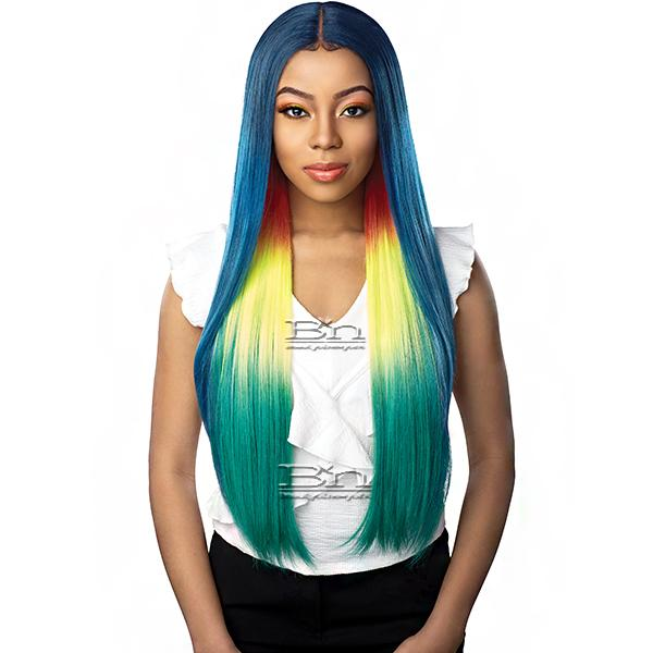 Sensationnel Shear Muse Synthetic Hair Empress Lace Front Wig - AZA
