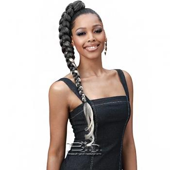 Bobbi Boss Synthetic Pre Feathered Braid - 3X KING TIPS J BODY WAVE 28