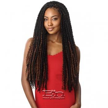 Outre Synthetic Braid - X PRESSION TWISTED UP PASSION WATER WAVE 24