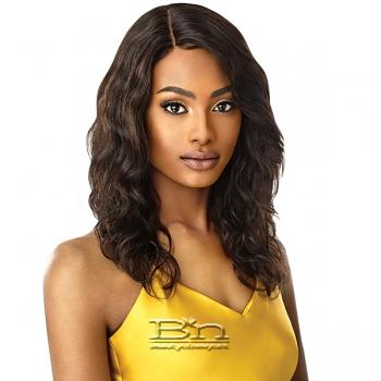Outre Mytresses Gold Label 100% Unprocessed Human Hair Lace Front Wig - NATURAL BODY 20-22