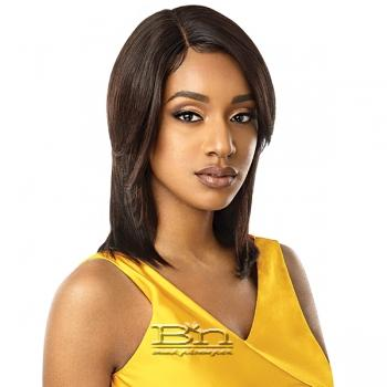 Outre Mytresses Gold Label 100% Unprocessed Human Hair Lace Front Wig - NATURAL STRAIGHT 16-18