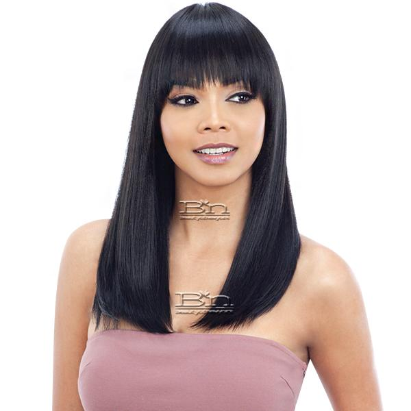 Model Model Synthetic Freedom Wig - NUMBER W02