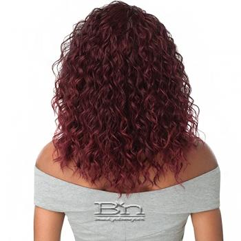 Outre Synthetic Half Wig Quick Weave - MELROSE
