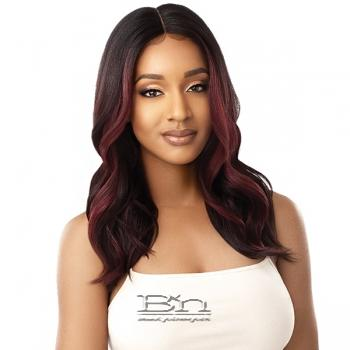 Outre Synthetic I-Part Swiss Lace Front Wig - SHATAYA