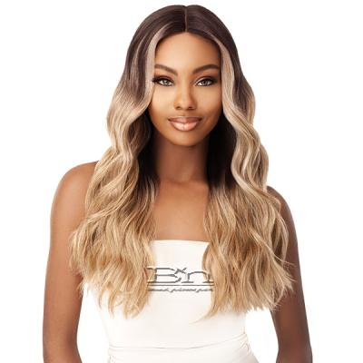 Outre Synthetic I-Part Swiss Lace Front Wig - STEVIE