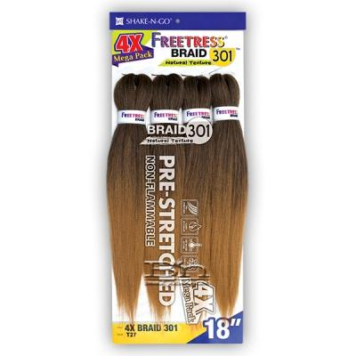 Freetress Synthetic Braid - 4X BRAID 301 18