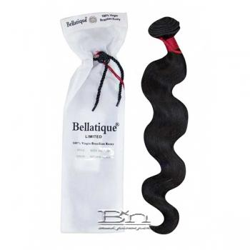 Bellatique 100% Virgin Brazilian Remy Hair Weave - BODY WAVE 18