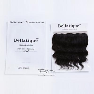 Bellatique 100% Virgin Brazilian Remy Hair 13x4 Full Lace Frontal Closure - BODY WAVE