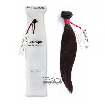 Bellatique 100% Virgin Brazilian Remy Hair Weave - STRAIGHT 12