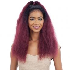 Model Model Synthetic Half Up Lace Front Wig - CAPRI