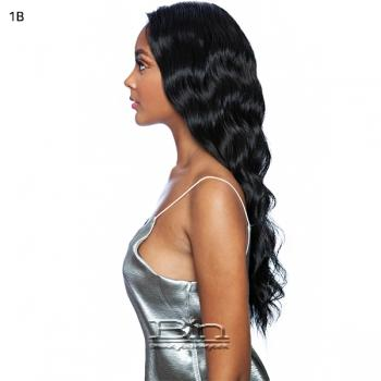 Mane Concept Melanin Queen Face Part Lace Part Wig - MLFV102 CARDI WAVE 26