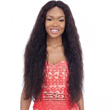 Mayde Beauty Lace and Lace 100% Human Hair Lace Front Wig - FRENCH WAVE 26