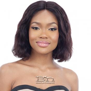 Mayde Beauty Lace and Lace 100% Human Hair Lace Front Wig - LOOSE WAVE