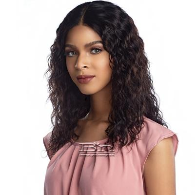 Sensationnel 100% Virgin Human Hair Lace Front Wig - NATURAL WAVE
