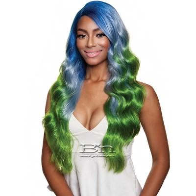 Isis Red Carpet Synthetic Hair Lace Front Wig - RCP7032 MACARON GIRL 2