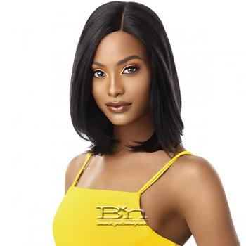 Outre The Daily Wig 100% Human Hair Lace Part Wig - LAYER BOB 16