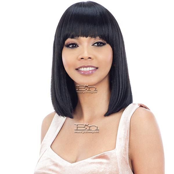 Model Model Synthetic Freedom Wig - NUMBER W01