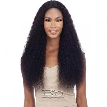 Mayde Beauty 100% Human Hair Wet & Wavy Invisible 5 inch Lace Part Wig - BOHEMIAN CURL 30