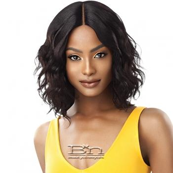 Outre The Daily Wig 100% Human Hair Lace Part Wig - CURLY 16