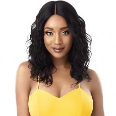 Outre The Daily Wig 100% Human Hair Lace Part Wig - CURLY 20